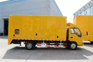 Quality 400 / 440V 300 kW Truck Mounted Generator Sets 6 Cylinder With 2 * 200AH Battery for sale