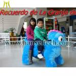 China Hansel kids giant animal scooters zoo animal scooter in mall plush animal scooters wholesale