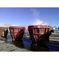 40cr Forging Geological Instruments Elliptical Welded Slag Pot 35.6ton Weight