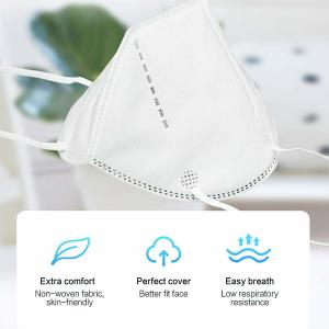 China 4 Layers Medical  KN95 Face Mask Hypoallergenic Non Woven Face Mask on sale