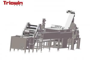 China Industrial Fruit Puree Machine , Carrot Processing Equipment 8.3~9.2 Brix on sale