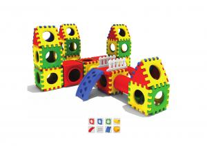 China Childrens Plastic Play Equipment , Plastic Toddler Playground on sale
