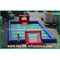 China Durable PVC Tarpaulin Inflatable Sports Games / Kids Inflatable Soccer on sale