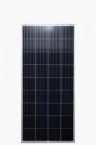 China Roof And Ground Grade A Solar Panel 150 Watt  High Conversion Rate Stable Performance on sale