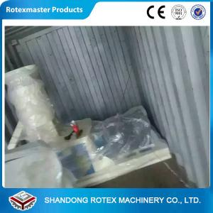 China 500-600 KG / H  Reducer Transmission Flat Die Pellet Making Machinery on sale