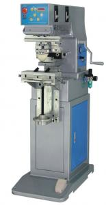 China 1-Color Ink Tray Pad Printing Machine on sale