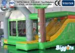 China Indoor Commercial Inflatable Bouncers Jungle , Funny Kids Combo Games wholesale