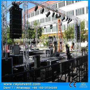 China RK High quality  portable mobile stage pipe and drape concert sound systems on sale