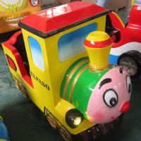 Hansel wholesale indoor coin operated train kiddie rides kids game machine