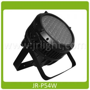 China Outdoor RGBW Colour LED PAR Can Lights Wall Wash DMX Lighting 54×3W on sale