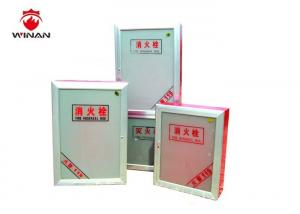 China Recessed Fire Hose Storage Cabinet Fire Hydrant Box With Two Door on sale