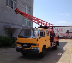 China GC-150 Hydraulic Chuck Truck Mounted Drilling Rig For Geological Exploration on sale