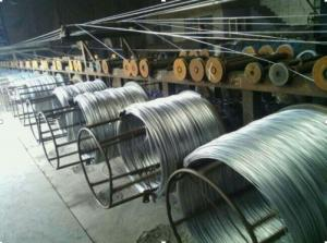 China 20 - 22 Guage Q195 Carbon Steel Wire Electro Galvanized Iron Binding Wire For Construction on sale