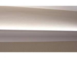 China led strip aluminum channel and recessed wall aluminium profile UP light for base corner lights on sale