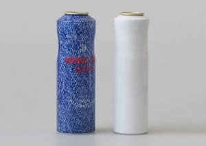 China Pressurized Silver Aluminum Aerosol Cans Body Spray Products Wrapping on sale