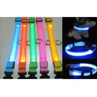 Waterproof Adjustable Blue Led Pet Dog Collar High Brightness S - M - L - XL Size