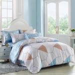 China Cuztomized Color Silk Luxury Home Bedding Sets , Queen Size / Full Size Bed Sets wholesale
