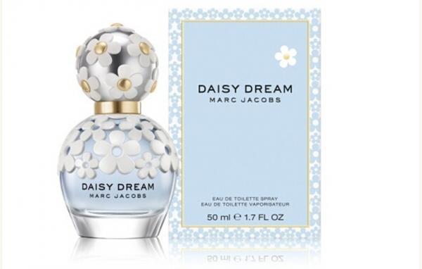 Marc Daisy Dream Original Perfumes White Flowers Cap With Light Blue