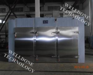 China Steam Heating Hot Air Drying Oven Batch - 600Kgs Loading Capacity 50 / 60Hz on sale