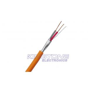 China FRHF 2 Core 0.50mm2 Fire Resistant Cable Copper Conductor with Silicone Insulation on sale