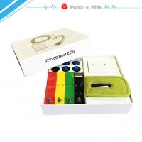 Build-In Defibrillation Protect 12 Lead Portable ECG Machine Based On IOS System