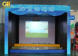 China Double Projector 3D Game Machine AR Interactive Projector Game Park On Floor / Wall on sale