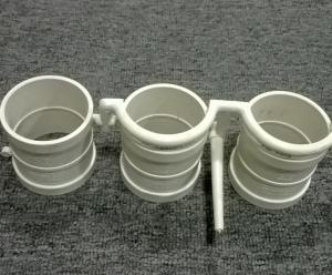 China plastic coupler pvc pipe fitting mould on sale