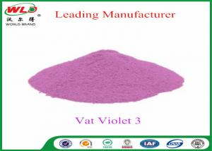 China Customized Wool Permanent Fabric Dye C I Vat Violet 3 Vat Violet RRN on sale