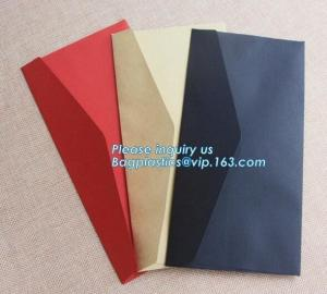 China Wholesale custom 4X6 greeting cards 100 pack V flap brown kraft paper A6 envelopes,private label brown kraft paper envel on sale