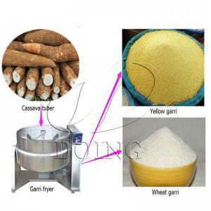 Garri production line | making garri from cassava tuber for