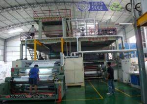 China SMS PP Non Woven Fabric Manufacturing Machine For Operation Suit on sale