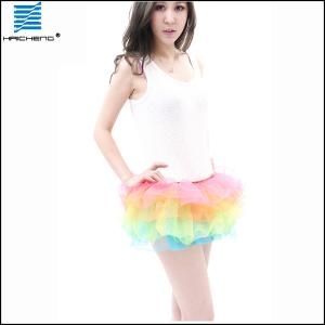 China Women Fairy Costume Rainbow Tutu Skirts on sale