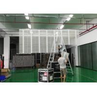 COB Transparent LED Screen Wall 3.91 x 7.82 Pixel Pitch With Asynchronous Control