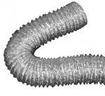 Conduit flexible de papier d'aluminium