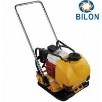 Easy Operation Heavy Duty Plate Compactor With Honda Engine / Water Tank