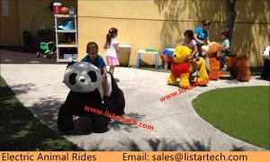 China Shopping Mall Amusement Electric Ride on Animals for Kids and Adlults Riding on sale