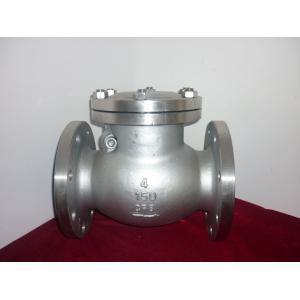 China API6D Oil / Gas Stainless Steel Check Valve 20'' Flange Type ANSI 300LB on sale