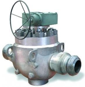 China ASME / ANSI Top Entry Trunnion-Mounted Ball Valve For Petrochemical Processing on sale