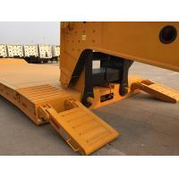 Waterproof Moisture - Proof Lowboy Heavy Equipment Trailers With Steel Mud Guard