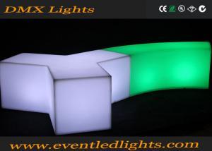 China El banco largo llevó la silla ligera, muebles iluminados llevados cambiables del color recargables on sale