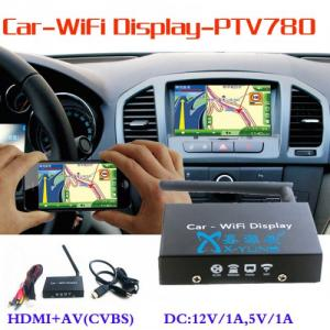 China Ptv780 Car WiFi Mirabox Android Miracast Dongle Ios Airplay Mirroring HDMI+AV (CVBS) +Micro USB on sale