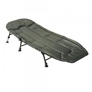 China Wild fishing Abrasion - Resistant soft Carp fishing folding leisure bed chair with 8 legs on sale