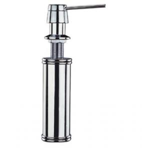 China Kitchen Sink Stainless Steel Soap Dispenser With Push Shower Nozzle on sale