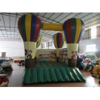China 4 x 5m Kids Inflatable Bounce House / Blow Up Balloon Jump Ramp Platform Mickey Mouse Jump House on sale