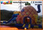 PVC Tarpaulin Inflatable Combo Games Inflatable Spongebob Bouncer With Slide
