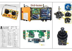 China Handheld Industrial Remote Control For Gantry / Overhead / Bridge Crane on sale