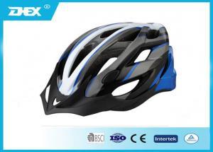 China Cycling Sport Adult Bicycle Helmet , High density EPS funky bike helmets on sale
