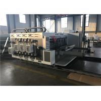 China Reliable Corrugated Carton Machine / Die Cutting Machine Lead Edge Feeder Type on sale