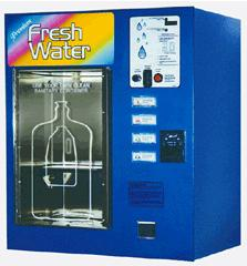 China Drinkable Aqua Vending Machines with coin selector on sale