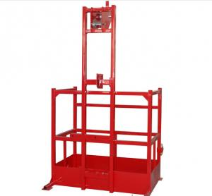 Crane Suspended Personnel Platforms , Personnel Lifting Basket 8 5m